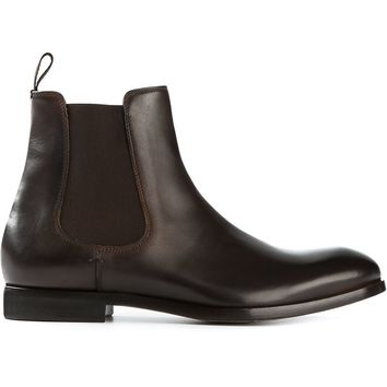 Paul Smith contrast elasticated panels chelsea boots
