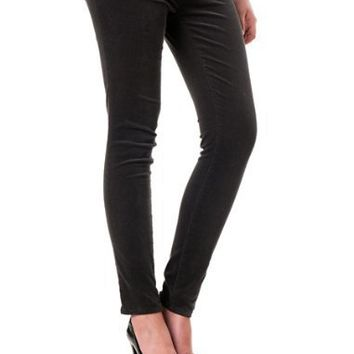 A Pea in the Pod: Early and After Belly Corduroy 5 Pocket Slim Leg Maternity Pants