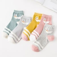 Happy Alpaca Cotton socks