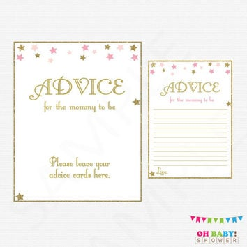 best baby shower advice cards products on wanelo, Baby shower invitations