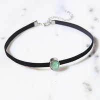 LA Hearts Iridescent Opal Choker at PacSun.com