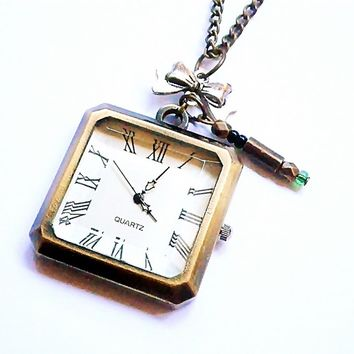 Doctor Who: 11th Doctor's pocket watch with by vintagehomage on Zibbet