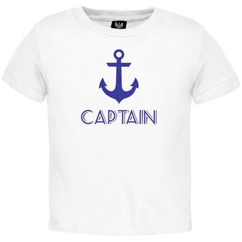Captain Toddler T-Shirt