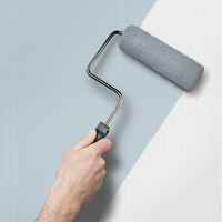 Shop allen + roth Peelable Vinyl Prepasted Paintable Wallpaper at Lowes.com