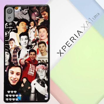 Shawn Mendes Collage Y1146 Sony Xperia XA1 Ultra Case