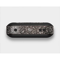 The Black Unfocused Sparkle Skin Set for the Beats Pill Plus