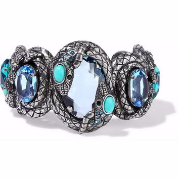 Silver-tone, crystal and resin cuff | LANVIN | Sale up to 70% off | THE OUTNET