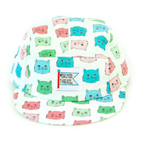 NEW Cat Tint Print 5 Panel Walter Hat
