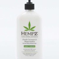Hempz Fresh Coconut and Watermelon Herbal Body Moisturizer - Urban Outfitters