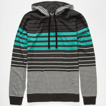 Shouthouse Fly By Mens Lightweight Hoodie Charcoal  In Sizes