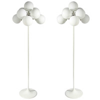 Pair of Max Bill Floor Lamps