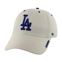 Los Angeles Dodgers - Logo Clean Up Adjustable White Baseball Cap