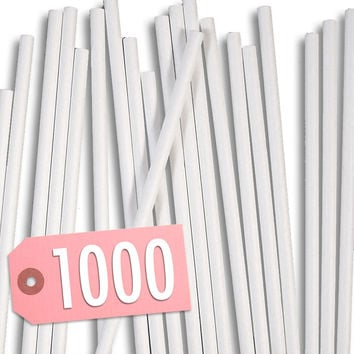 "4-1/2"" Paper Lollipop Sticks 1000"
