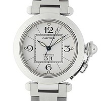 Cartier Pasha automatic-self-wind mens Watch W31055M7 (Certified Pre-owned)