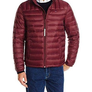 Tommy Hilfiger Men's Packable Down Jacket  fashion bags