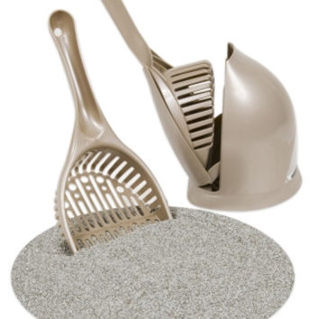 Scoop 'N Hide Litter Scoop Pearl