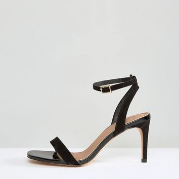 ASOS HIDEAWAY Wide Fit Heeled Sandals at asos.com