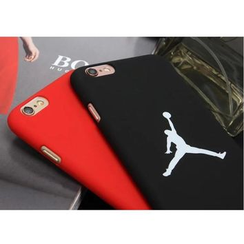 Fashion flyman Michael Jordan PC case for Apple iphone 7 6 6s plus 4.7 5.5 SE 5 5S bac
