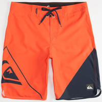 Quiksilver New Wave Mens Boardshorts Red  In Sizes