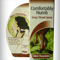 Comfortably Numb Mint Chocolate Deep Throat Spray