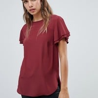 New Look Silky Tee at asos.com