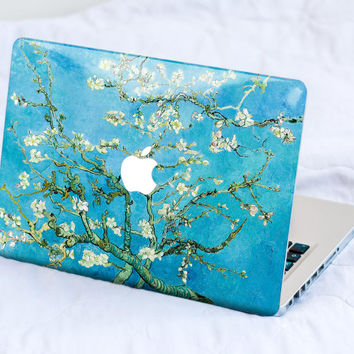 Blossoming Almonds MacBook Skin