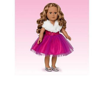 "My Life 18"" Party Planner Doll-Brown Hair And Brown Eyes"