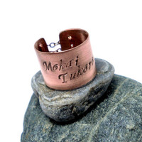 Personalize your own Burlesque style Corset Ring by MerCurios
