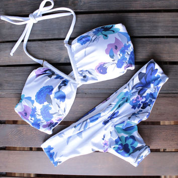 khongboon swimwear - giove reversible full-cut bikini