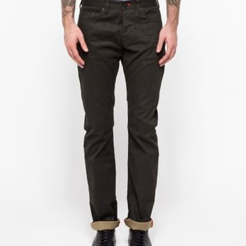 Shockoe Denim Cottrell in Charcoal-Olive
