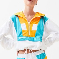 Reebok x Gigi Hadid White and Orange Half Zip Hoodie | PacSun