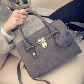 New Women Shoulder Handbag Bag Tote Purse Leather Ladies Messenger Bag  Gift