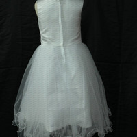 Organza flower girl dress with different color sash flower girl dress