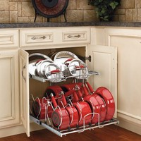 12 Storage Solutions - Cookware Organizer