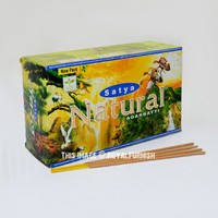 Satya Natural Incense Sticks 180 Gram - Set of 12 Boxs of 15 Gram on RoyalFurnish.com