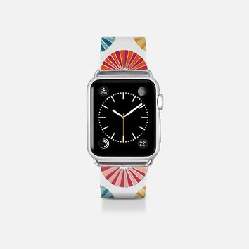 carousel white apple watch band Apple Watch Band (38mm)  by Sharon Turner | Casetify