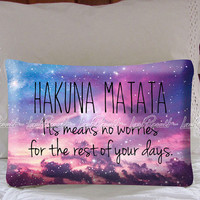 Hakuna Matata Means Pillow Case Cover Collectors Gift