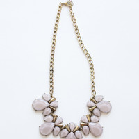 Francesca Lavender Crystal Necklace