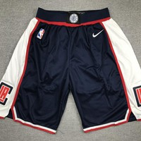 Los Angeles Clippers Basketball Navy Sport Shorts - Best Deal Online