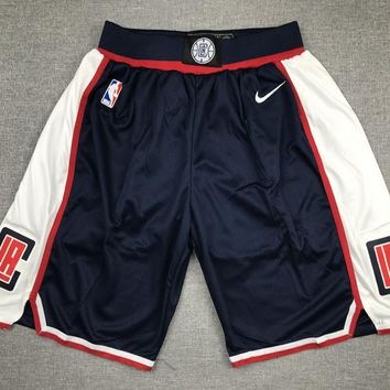 Los Angeles Clippers Basketball Navy Sport Short - Best Deal Online