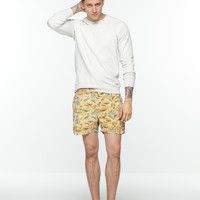 Retro swim shorts with Hawaiian prints - Scotch & Soda