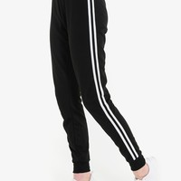 Striped joggers