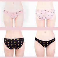 [Set] Candy/Burger Cheeky Hipsters