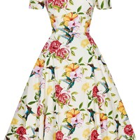 Liliana Dress - Humming Birds