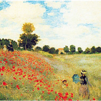 Poppies by Monet European Wall Hangings