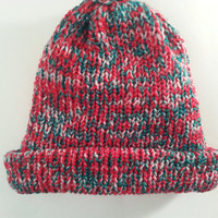 Christmas Beanie,Christmas hat,beanie with brim