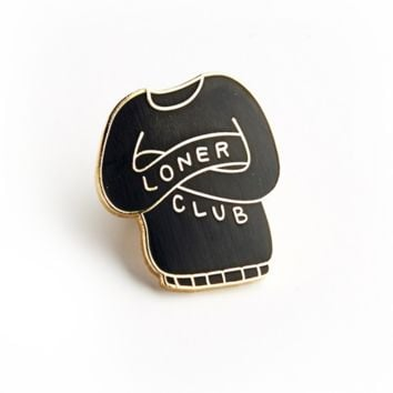 Loner Club Pin