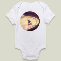 Saturn Child Onesy by AnnisaTiaraUtami on BoomBoomPrints