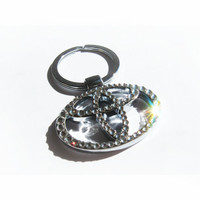 BLING Toyota Keychain with crystals Toyota sleutelhanger Toyota emblem /Toyota key chain Toyota key ring Toyota keyring