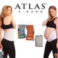 Atlas Combo Pregnancy Postpartum Support Band with Cold and Warm Compress Pack